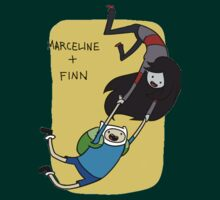 Marceline and Finn by Spartan117