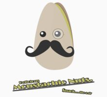Delicious Moustachio Nuts. by Tanner Johnston