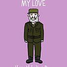 Fidel Castro by Ben Kling