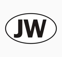 JW - Oval Identity Sign by Ovals
