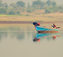 Fisherman's dawn by Prasad