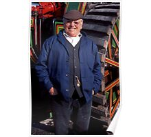 Fred Dibnah MBE Poster