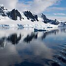 Reflections of Antarctica 2 by Karl David Hill