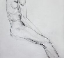 Male nude by John Darren Sutton