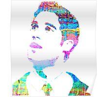 rainbow texture Poster