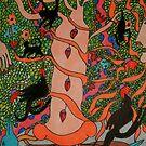 Mayan Tree of Life by George Hunter