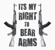 right to bear arms bw by red-rawlo