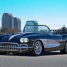 1958 Skyline Corvette by DaveKoontz