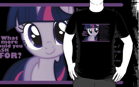 What else could anyone possibly ask for? (Twilight Sparkle) by jblee22