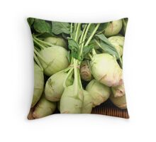 Clump of Kohlrabi Throw Pillow
