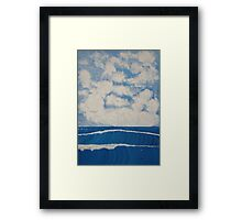 Western Shore Framed Print