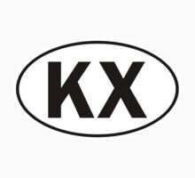 KX - Oval Identity Sign by Ovals