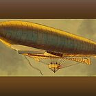Vintage Zeppelin Greetings by Yesteryears