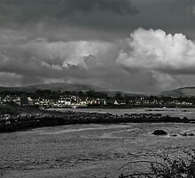 Ireland coastal village by DHParsons