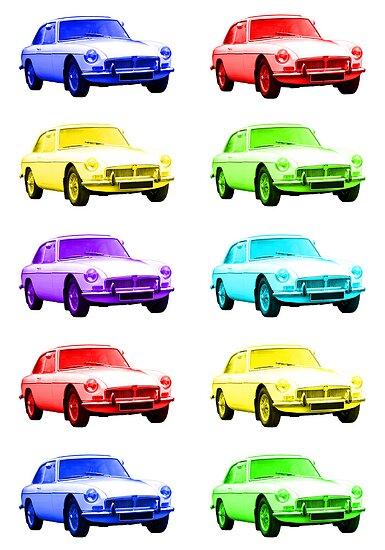 MGB GT Sports Cars by ImageMonkey
