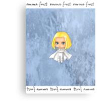 Chibi Emma Frost Metal Print