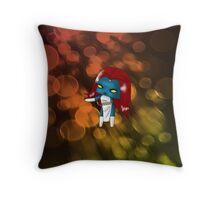 Chibi Mystique Throw Pillow