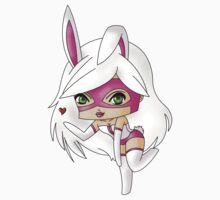 Chibi White Rabbit Kids Clothes