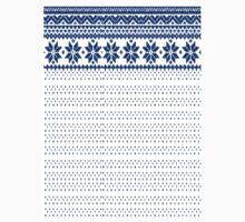 Frosty Antler - Plain White/Blue  Knitwear Style Design by FrostyAntler