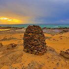 Rock Pillar - Wombarra by geomar