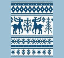 Frosty Antler - Blue Stag Knitwear Style Design by FrostyAntler