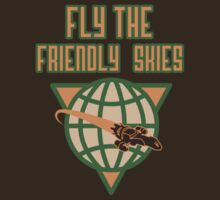Fly the Friendly Skies  by beware1984