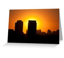 Highway 401 West of Don Mills (#352) Greeting Card