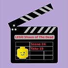 LEGO Shaun of the Dead Movie Clapperboard by Customize My Minifig by Chillee