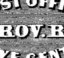 Providence Post Office 1846 Sticker