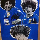 Marouane Fellaini Canvas Painting by chrisjh2210