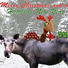 Merry Christmas and Hatching New Year by wistine