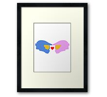 Spartan Love Framed Print