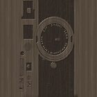 Manual SLR Faux Wood Case by Jenifer Jenkins