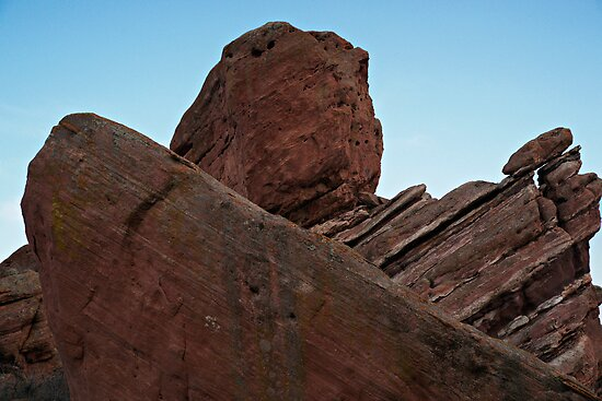 Red Rocks Uplift by Michael Kirsh