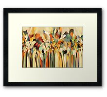 Angels Guiding Lot. Christian Modern Art Framed Print