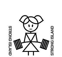 Strong Island Girl Deadlift by DesignedBySin