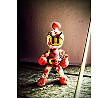 Bomberman Photographic Print