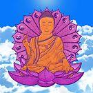peace buddha in the sky by peter barreda
