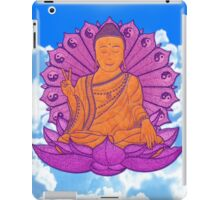 peace buddha in the sky iPad Case/Skin