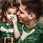 Papa &amp; Lilly Elf by Randy Turnbow