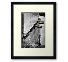 Her Berth Framed Print