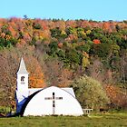 Church in the Catskill Mountains by BrianFitePhoto