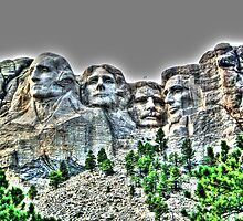 Mount Rushmore by BrianFitePhoto