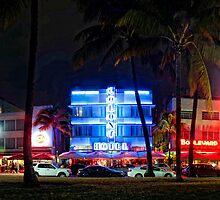 Ocean Drive in South Beach, Miami Beach by SoBeImages