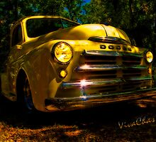49 Dodge Pickup Grille Magic Hour Glow by ChasSinklier