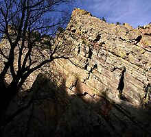 Eldorado Canyon Shadows by Michael Kirsh