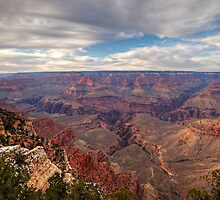 Grand Canyon Evening Sky by Michael Kirsh