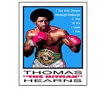 "BOXING LEGENDS: THOMAS ""THE HITMAN"" HEARNS Photographic Print"
