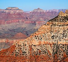 Grand Canyon Ridge and O'Neill Butte by Michael Kirsh