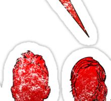Battle Born (Grunge Ver.) Sticker